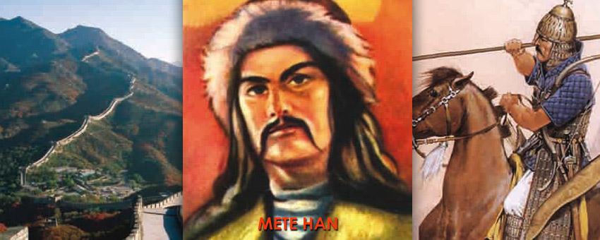 Çin Seddi nasıl yapıldı ?, Mete zamanında Türk Cemiyeti, Mete Han'ın Çin imparatoruna mektubu